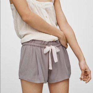 Aritzia Wilfred Montrouge Flowy Crepe Shorts